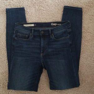 Very Nice Gap Resolution True Skinny Blue Jeans